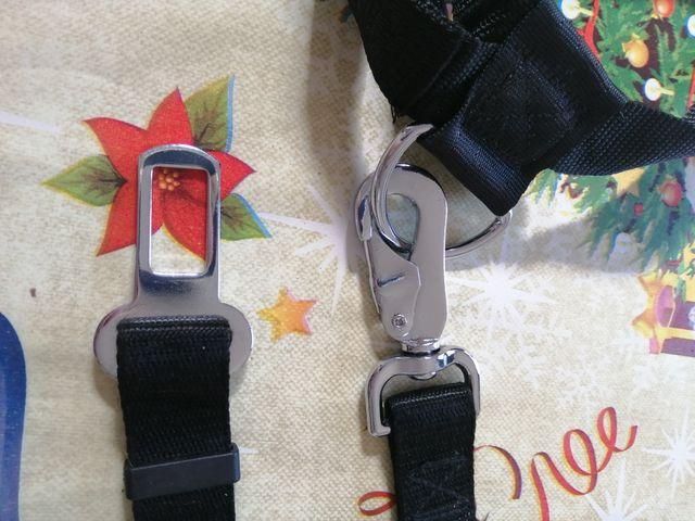 Cinturón de seguridad para perro mediano
