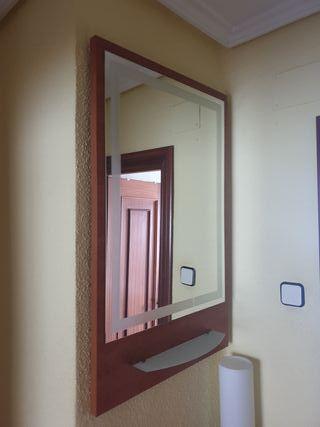 espejo entrada recibidor
