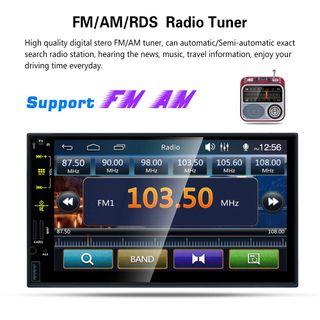 """Radio coche pantalla táctil 7"""""""