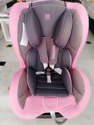 silla bebe niña