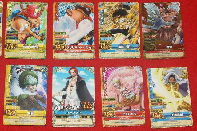 18 cartas One Piece, One Py Berry Match