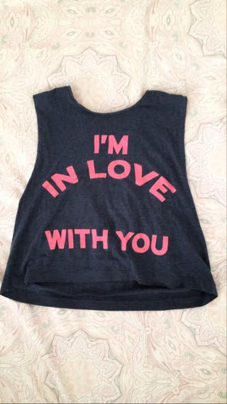 Camiseta tirantes talla S-M