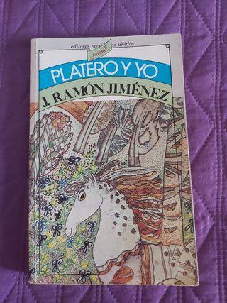 libro platero y yo