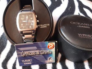 Reloj pulsera para hombre Casio Oceanus OC-502D