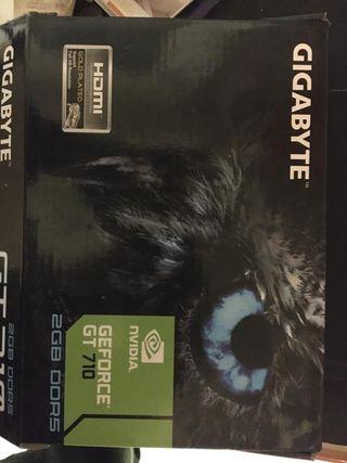Gigabyte NVIDIA GT 710 Silent 2GB ..