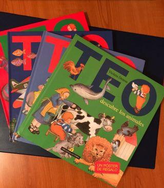 libros infantiles TEO a estrenar