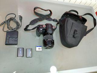 Cámara Sony DSLR - A100