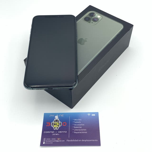 IPHONE 11 PRO MAX 64GB ORIGINAL FACTURA GARANTIA