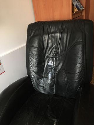 Sillón masajeador reclinable