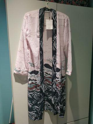 kimono suelto pull & bear