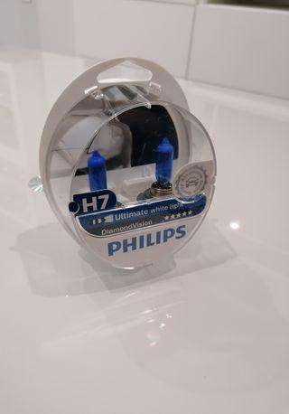 bombillas Philips H7 diamondVision
