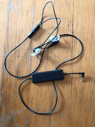 Auriculares BOSE con cancelador de ruido