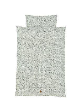 Mint Dot Bedding BY FERM LIVING junior 100x140