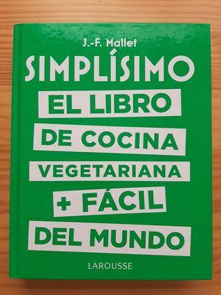Libro de cocina vegetariana