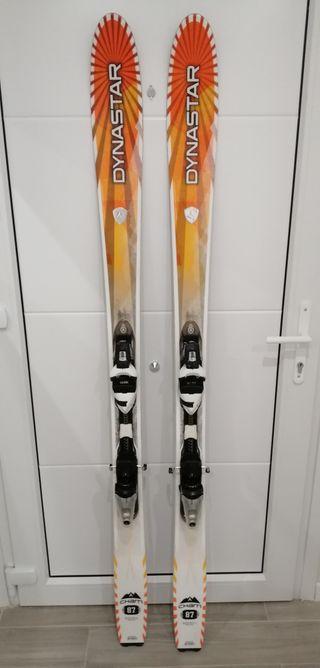 Esquis Dinastar Cham 87 de 178 cm.