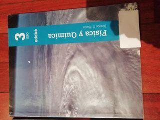libros 3ESO Física y química ed. edebe