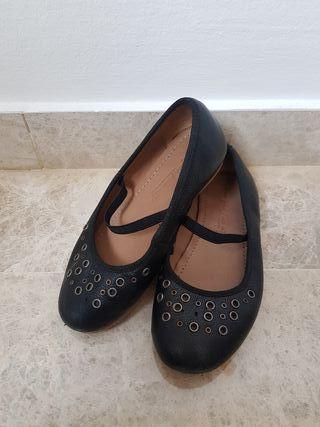 Zapatos de piel Zara talla 27