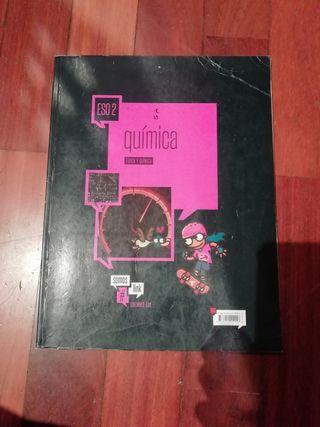 libro 2ESO fisica y quimica, ed. edelvives