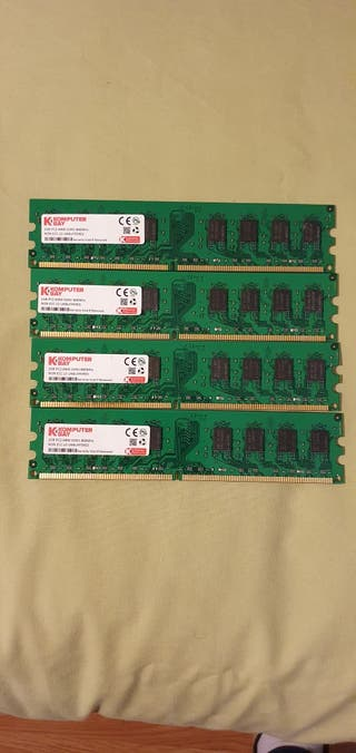MEMORIA RAM DDR2 2GB Y SODIMM KINSGTON Y SAMSUNG