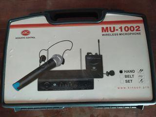 pack microfonos