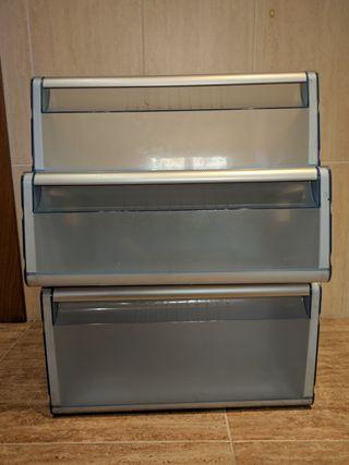 Cajones congelador Balay 3KFP7665 Inox