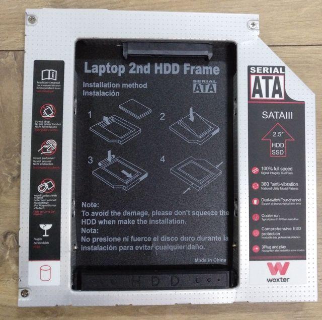 Adaptador disco duro para portátil