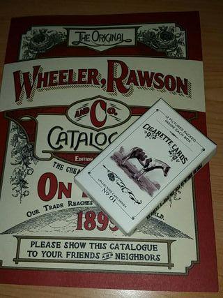 Catalogo y tarjetas edición coleccionista RDR2
