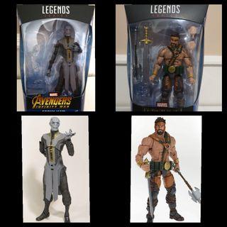 Pack Figuras Marvel Legends 6''