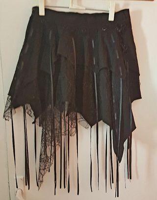 falda gótica