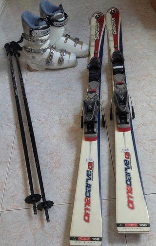 Esquis Dynastar Omecarve 08+Funda esquís de regalo