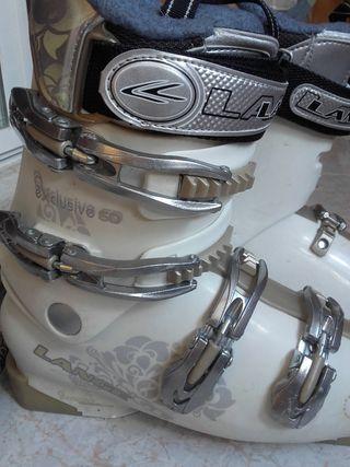 Botas esquí exclusive 60 lange+funda de regalo