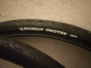 "Cubiertas Michelin Protek 28"" 700x35C 37-622 negro"