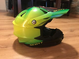 Casco motocross/enduro scott