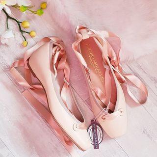 Nuevas: Bailarinas piel rosa Pedro Miralles T37