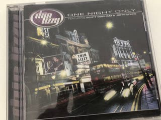 CD Thin Lizzy. Live One Night Only