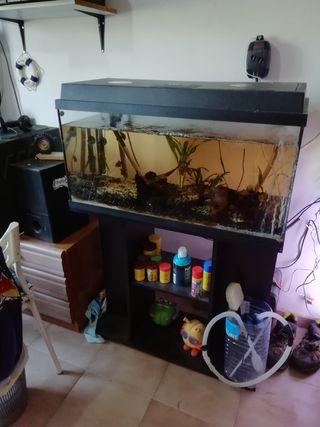 pecera acuario juwel 110L completa
