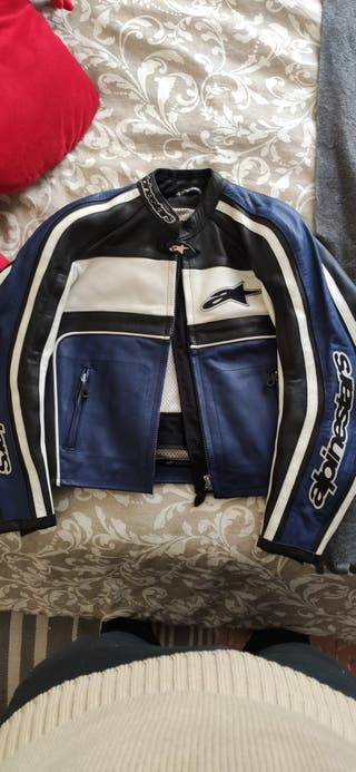 chaqueta moto chica
