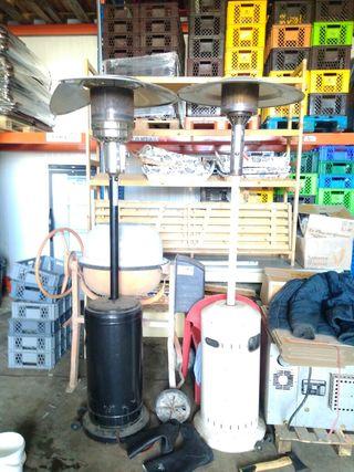 2 Setas Estufas de gas butano