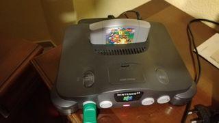 Nintendo 64 con Mario 64
