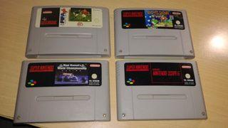 Pack juegos Super Nintendo