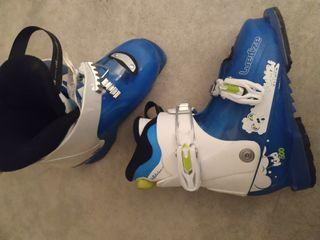 botas esquí niño pumzi 29/32 decathlon