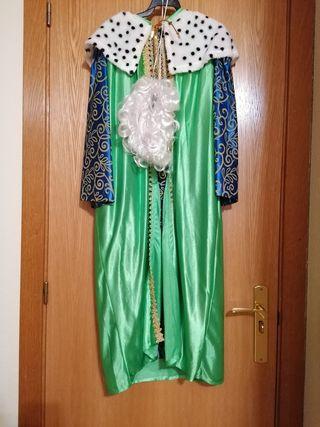 Disfraz de Rey Mago talla 10-12 años