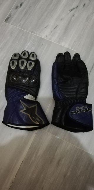 guantes de cuero Alpinestars Sp2