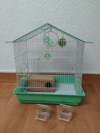 Jaula de pájaros 42x30x48cm