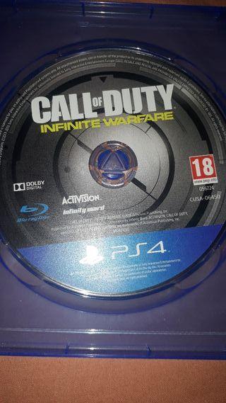call of duty infinite warfare ps4 15€