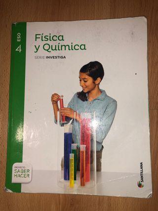 libro de física y química 4 eso