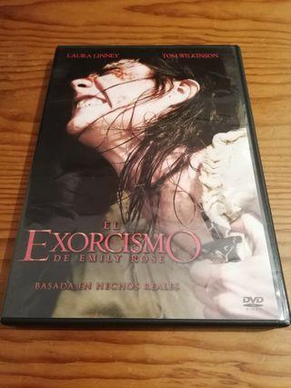 Película DVD: El Exorcismo de Emily Rose