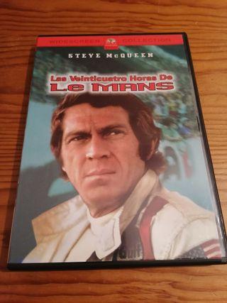 Película DVD: Las Veinticuatro Horas De Le Mans