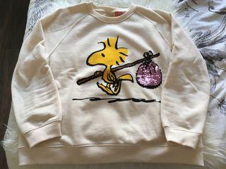 Sudadera Peanuts Zara Kids