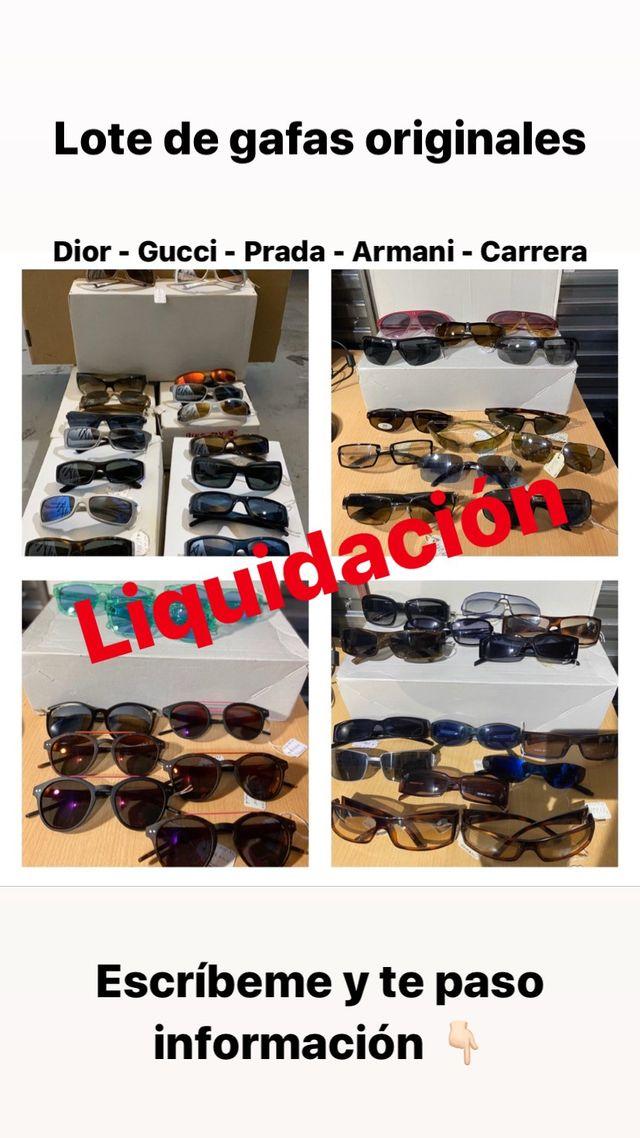 Lote de gafas 1515 por cierre de óptica